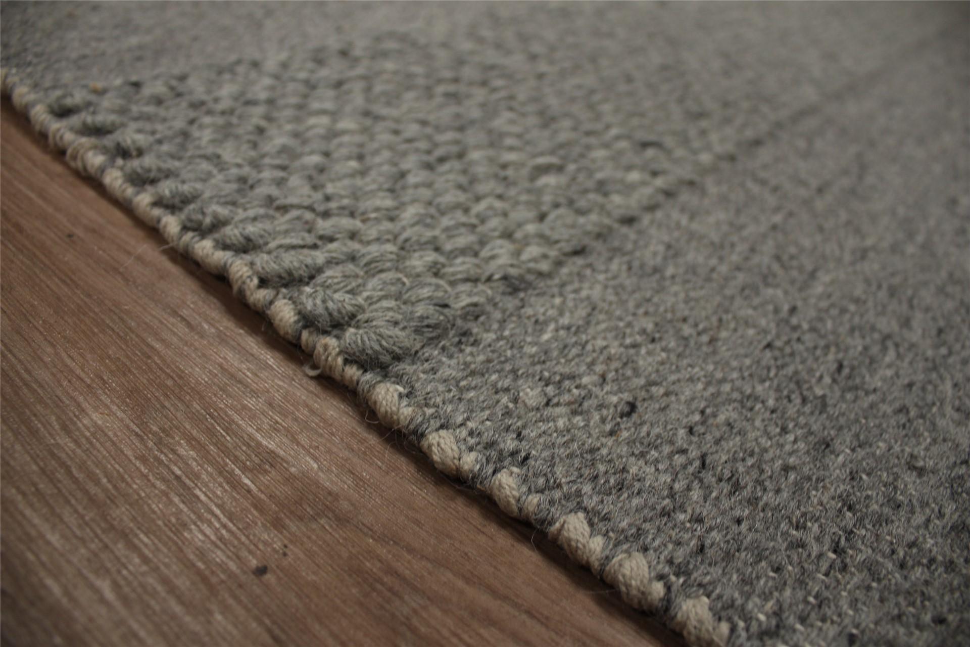 Teppich Wolle Grau : teppich kelim 190x290 cm 100 wolle rug tapis handgewebt grau ebay ~ Watch28wear.com Haus und Dekorationen