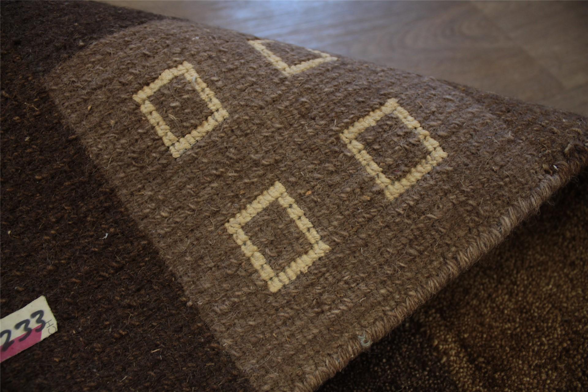 tapis nepal om u00e9ga 200x300 cm 100  laine avec soie cola