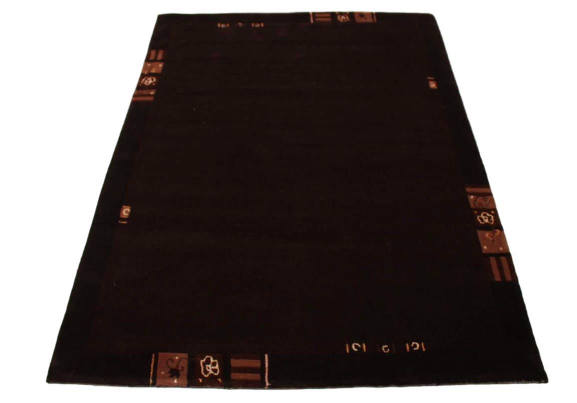 teppich nepal fein mit seide handgekn pft 170x240 cm 100. Black Bedroom Furniture Sets. Home Design Ideas